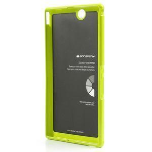 JellyGospery gélový obal pre mobil Sony Xperia Z Ultra - zelený - 6