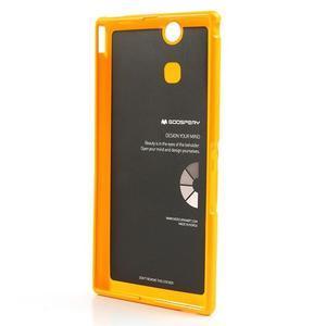 JellyGospery gélový obal pre mobil Sony Xperia Z Ultra - žltý - 6