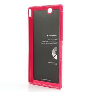 JellyGospery gelový obal na mobil Sony Xperia Z Ultra - červený - 6