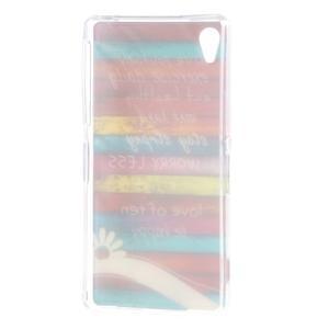 Emotive gelový obal na Sony Xperia Z2 - barvy dřeva - 6