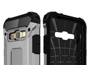 Armory odolný obal pre mobil Samsung Galaxy J1 (2016) - šedý - 6