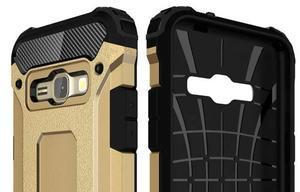 Armory odolný obal pre mobil Samsung Galaxy J1 (2016) - zlatý - 6