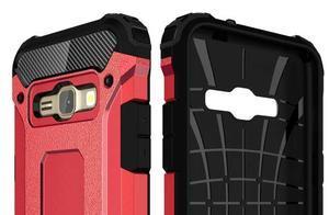 Armory odolný obal pre mobil Samsung Galaxy J1 (2016) - červený - 6
