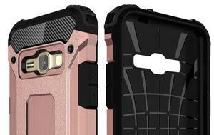Armory odolný obal pre mobil Samsung Galaxy J1 (2016) - ružovozlatý - 6