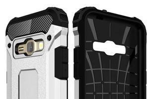 Armory odolný obal pre mobil Samsung Galaxy J1 (2016) - biely - 6