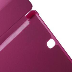 Trifold polohovatelné puzdro pre Samsung Galaxy Tab A 9.7 - rose - 6