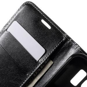Módní štýlové puzdro na Samsung Galaxy S6 - čierné - 6