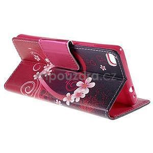 Peňaženkové puzdro Huawei Ascend P8 -  srdce - 6