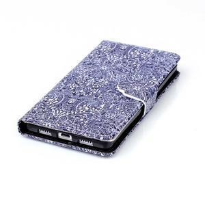 Puzdro na mobil Huawei P8 Lite - textury květin - 6