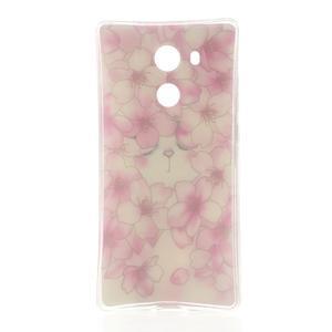 Softy gelový obal na mobil Huawei Mate 8 - kvetoucí švestka - 6