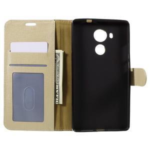 Clothy PU kožené pouzdro na Huawei Mate 8 - champagne - 6