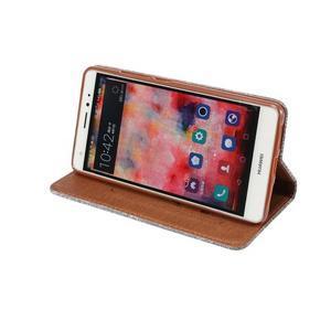 Style knížkové pouzdro na mobil Huawei Mate S - šedé - 6