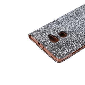 Style knižkové puzdro na mobil Huawei Mate S - čierne - 6