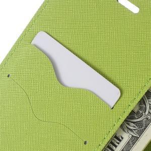 Diary PU kožené puzdro na telefon Huawei P9 Lite - tmavomodré - 6