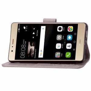 Cloverleaf penženkové pouzdro na Huawei P9 Lite - šedé - 6