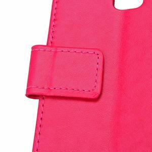 Cloverleaf penženkové puzdro na Huawei P9 Lite - rose - 6