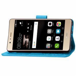 Cloverleaf peněženkové pouzdro na Huawei P9 Lite - modré - 6