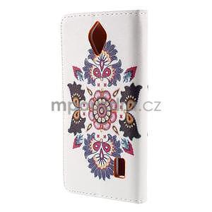 Zapínací peňaženkové puzdro na Huawei Y635 - folk - 6