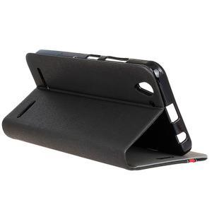 Klopové puzdro pre Lenovo Vibe K5 / K5 Plus - čierné - 6
