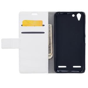 Peňaženkové puzdro pre Lenovo Vibe K5 / K5 Plus - bielé - 6
