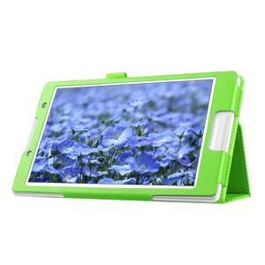 Dvojpolohové puzdro pre tablet Lenovo Tab 2 A8-50 - zelené - 6