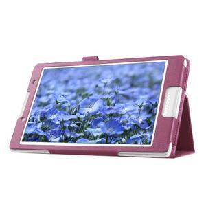 Dvojpolohové puzdro pre tablet Lenovo Tab 2 A8-50 - fialové - 6