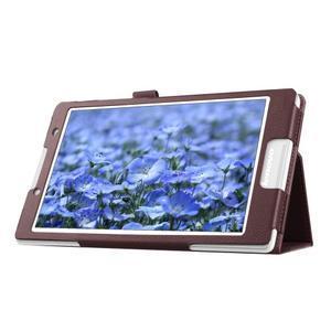 Dvojpolohové puzdro pre tablet Lenovo Tab 2 A8-50 - hnedé - 6