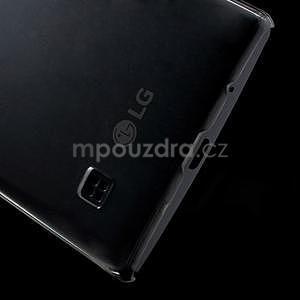 Transparentný plastový kryt pre mobil LG Spirit - 6