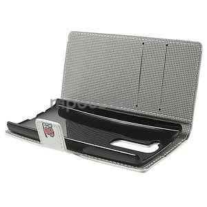 Peňaženkové puzdro na LG Spirit - sovičky - 6