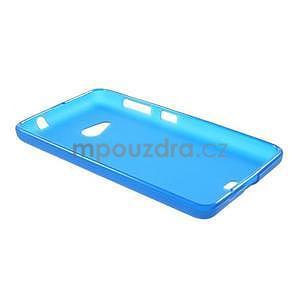 Matný gélový obal Microsoft Lumia 535 - modrý - 6