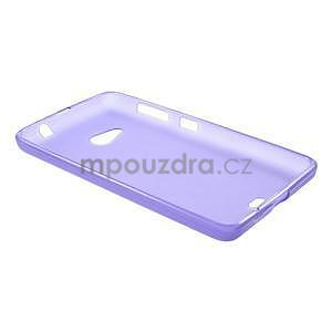 Matný gélový obal Microsoft Lumia 535 - fialový - 6
