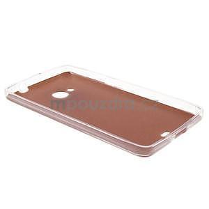 Ultra tenký kožený kryt na Microsoft Lumia 535 - champagne - 6