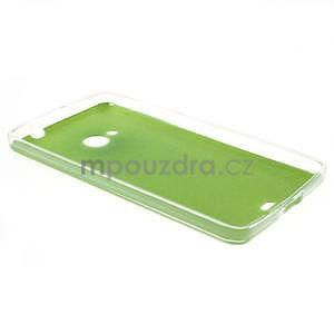 Ultra tenký kožený kryt na Microsoft Lumia 535 - zelený - 6
