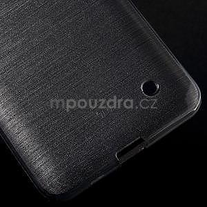 Brúsený gélový obal pre Microsoft Lumia 640 LTE - sivý - 6
