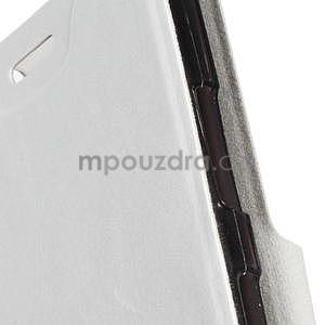 Bílé peňaženkové puzdro na Microsoft Lumia 640 LTE - 6