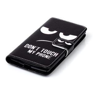 Peňaženkové puzdro na mobil LG Spirit - nešahat - 6