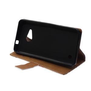 Peňaženkové puzdro pre mobil Microsfot Lumia 550 - kráľovská koruna - 6