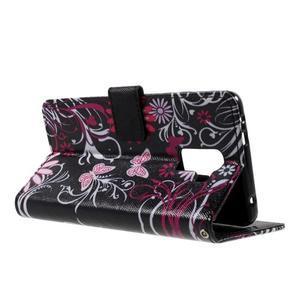 Cross peňaženkové puzdro pre Huawei Honor 7 - čarovné motýľe - 6