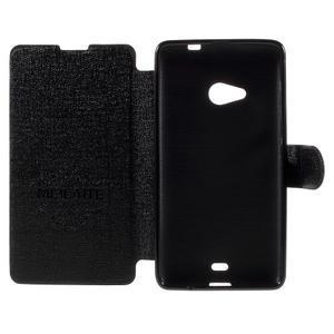 Solid puzdro na mobil Microsoft Lumia 535 - čierné - 6