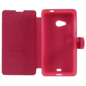 Solid puzdro pre mobil Microsoft Lumia 535 - rose - 6