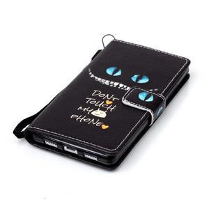 Peněženkové pouzdro Huawei Ascend P8 Lite - nedotýkat se - 6