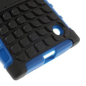 Outdoor odolný kryt na Nokia Lumia 730/735 - modrý - 6