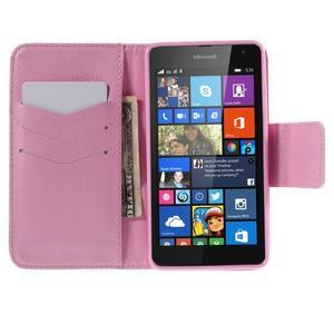 Peňaženkové puzdro pre Microsoft Lumia 535 - motýlci - 6