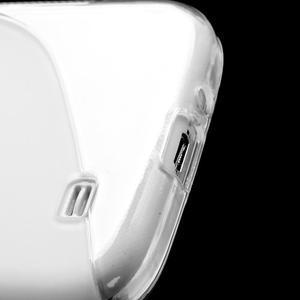 S-line gélový obal pre Samsung Galaxy S4 - transparentný - 6