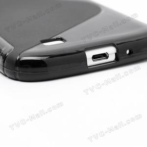 S-line gélový obal na Samsung Galaxy S4 - čierný - 6