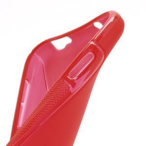 S-line gélový obal pre Samsung Galaxy S4 - červený - 6