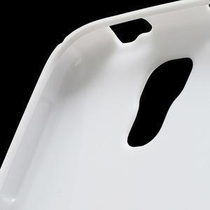 S-line gélový obal pre Samsung Galaxy S4 - biely - 6