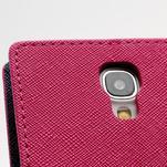 Fancy peňaženkové puzdro na Samsung Galaxy S4 -  rose - 6/7