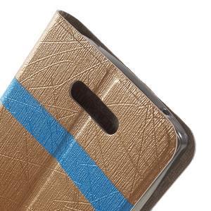 Linie pouzdro na mobil Lenovo A2010 - zlaté - 6