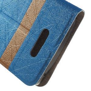 Linie pouzdro na mobil Lenovo A2010 - modré - 6
